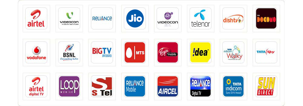 all mobile and dth operators